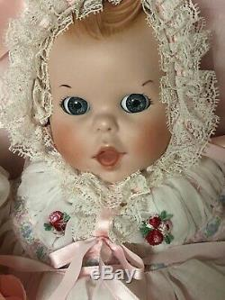 Rare Vintage 1982 Gerber Baby (porcelaine Ltd Ed 12) Par Atlanta Novelty À Moses