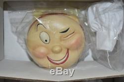 Rare Vintage 1996 Mcdonalds Speedee Publicité Poupée De Porcelaine L. E. Coa Nouvelle Mib