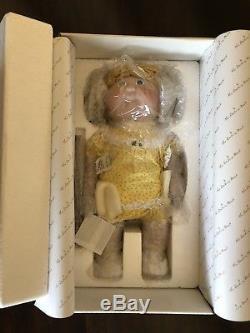 Rare Vintage Patch Danbury Menthe Cabbage Kids Edition Limitée Doll En Porcelaine