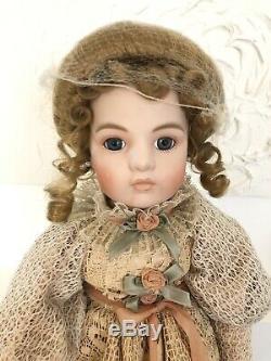 Reproduction Artisan Rare Vintage Doll Victorienne Par Louis Nichole
