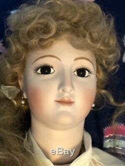 Reproduction Lady Main Grâce Bru Grandeur Nature Bisque Ooak Mannequin