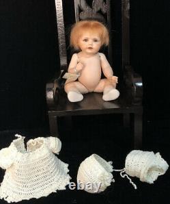 Reproduction Vintage De Antique 6 Poupées De Porcelaine Kestner Hilda Berdine Wyffels