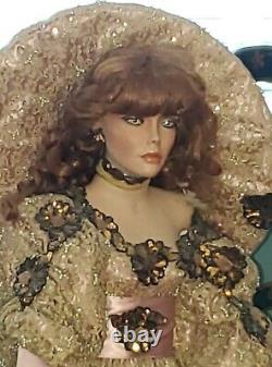 Rustie Stormy42 Porcelain Doll Redhair, 604/2500weldon Musm Tlc Lire Les Détails