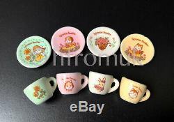 Service À Thé Miniature En Porcelaine Porcelaine Club Sylvanian Families Collection Vintage Rare