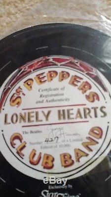 Sgt Vintage Poivre. George Harrison Starshine Beatle Poupée En Porcelaine