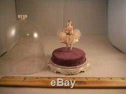 Spinning Vintage Ballerina Doll Porcelaine Laissez-moi Vous Appeler Chérie Music Box