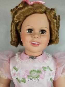Temple Vintage Patti Playpal Shirley Doll 35 Tous Porcelaine Monnaie Danbury