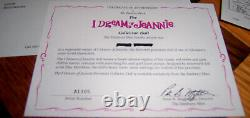 The Danbury Mint 1999 I Dream Of Jeannie Collector Doll Papers & Original Box