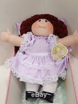 Ultra Rare Vintage Cabbage Patch Kids Collection Porcelaine 16 Doll Prestine