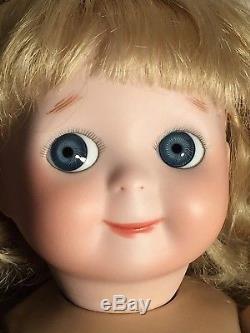 Verre À Tête En Porcelaine Doll Mary Lambeth Vintage 18 Byron Mould