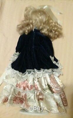 Victorian Porcelain 17 Doll Long Vtg