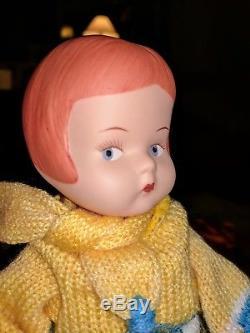 Vintage 1980's Effanbee Porcelain Patsy Poupées Lot 302/1000 900/1000