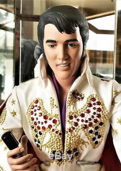 Vintage 1984 Elvis Presley Porcelaine Mondiale Doll # 9 De 750 Made! Belle Rare