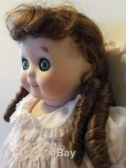 Vintage 1985 Googly Oeil Bisque 18 Doll Marqué Allemagne Marked Jdk 221