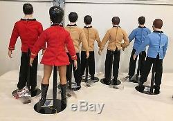Vintage 1988 Star Trek 14 Hamilton Ensemble De 7 Collections De Poupées En Porcelaine