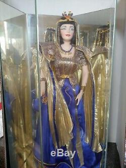 Vintage 1989 Franklin Mint Heirloom Doll Cleopatra Porcelain Parts 21nobox Haute