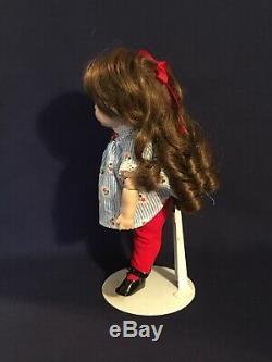 Vintage 221 Googly Porcelaine Jdk Curly Poupée Cheveux 10 Glass Eye