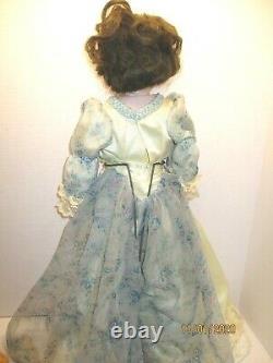 Vintage 24-25 Reproduction Français Charmante Polly Mann Doll Bisque/ Cloth 1955