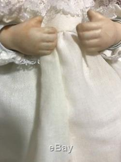 Vintage Baby Doll Trois Visages Porcelaine Creepy Rare Sourire Dormir Pleurer