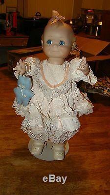 Vintage Bisque Porcelaine 17 Pouces Entièrement Abouté Kewpie Doll