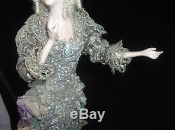 Vintage Blythe & Snodgrass Poupee Fairy En Porcelaine Sur Amethyst 17 Artist Ooak