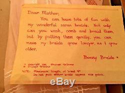 Vintage Bonnie Braids Poupée Jamais De Box! A Rare Rechercher