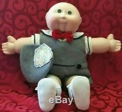 Vintage Cabbage Patch Limited Edition Timothy David Porcelain Doll 16 Signé