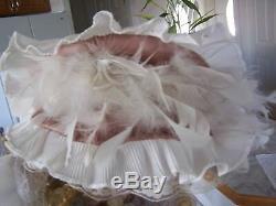 Vintage Cathay Collection 1-5000 Porcelaine Poupée Avec Parasol (38 Pouces H)