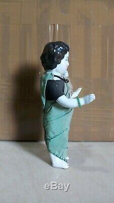 Vintage Charlotte Congelés Porcelaine 1980 Allemagne Poupée Poupée En Porcelaine De Jouets Surgelés