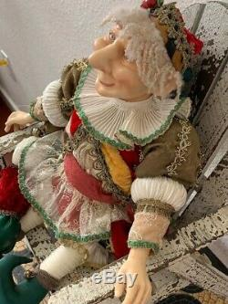 Vintage Collection Katherines Wayne Kleski Jester Holiday Doll 20