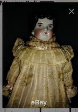 Vintage Doll Peint À La Main Minerve Geisha Doll Trouvez