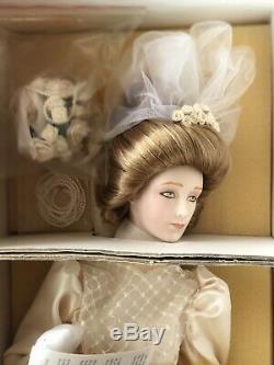 Vintage Franklin Heirloom Mint La Poupée En Porcelaine Pour Fille Gibson Girl 22