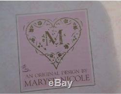 Vintage Franklin Mint 23 Poupée Maryse Nicole En Porcelaine Originale - Miel Rose