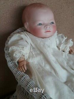 Vintage Grâce Putnam German Bye Lo Bisque Porcelaine Bébé Antique De Poupée 15