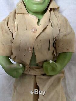 Vintage La Figurine D'action En Porcelaine Hulk Étrangère Sans Marque Knock Off 19
