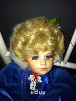 Vintage Lady Anne Doll Natalie Limited Edition # 48 Sur 250