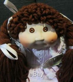 Vintage Limited Edition Porcelain Cabbage Patch Kids Doll Coa Box