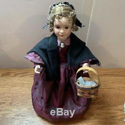 Vintage Little Women 5 Poupées En Porcelaine Amy Beth Meg Jo Marmee Ashton Drake Rare