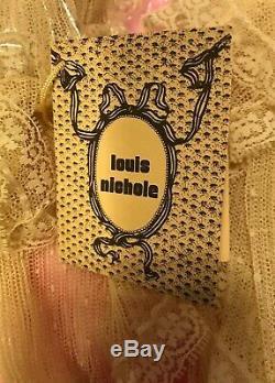 Vintage Louis Nicole Poupée Ange Ornement Porcelaine Tête Mains (8)