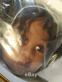 Vintage Master Piece Gallery Doll En Attente De Mommy African Anerican
