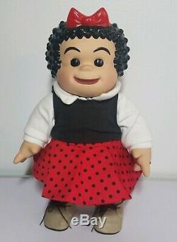 Vintage Nancy Et Sluggo Ping Lau 13 Porcelain Doll 1999 Très Rare