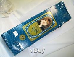 Vintage Nib 42 Rustie 1998 Robe Rose Shenandoah Poupée En Porcelaine Belle Du Sud