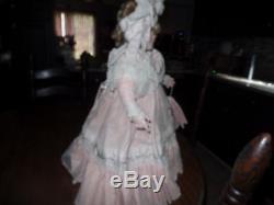 Vintage Pat Thompson Vlasta A Signé Chérie Doll Daddy 5/50