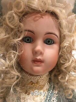 Vintage Patricia Loveless Repro Française Jumeau Porcelain Doll Theresa Nicole Euc