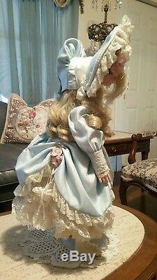 Vintage Patricia Reproduction Loveless De Poupée Adelle En Porcelaine De France