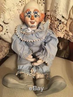 Vintage, Poupée En Porcelaine
