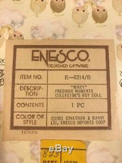 Vintage Precious Moments Porcelain Boy & Girl Dolls Debbie Et mikey