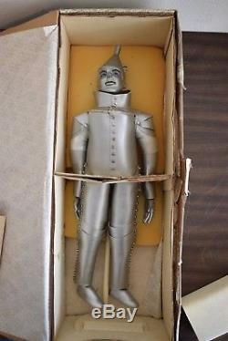 Vintage Rare! Franklin Heirloom Collection De Poupées En Porcelaine Wizard Of Oz