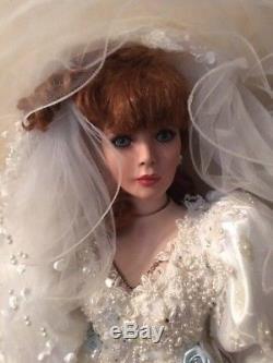Vintage Rustie Bridal Doll 1999 149 Of 2000 Robe De Mariée Rare Bride 34 Limited