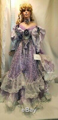 Vintage Rustie Porcelain Doll Robe Perlée # 16
